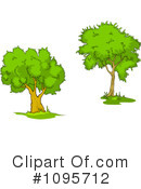 Trees Clipart #1095712 by Vector Tradition SM