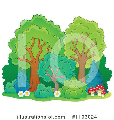 Tree Clipart #1193024 by visekart