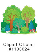 Trees Clipart #1193024 by visekart