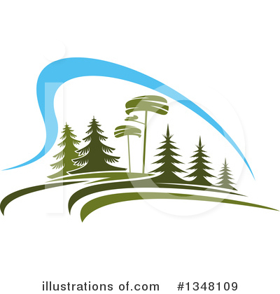 Tree Clipart #1348109 by Vector Tradition SM