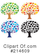 Trees Clipart #214609 by visekart