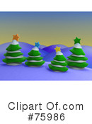 Trees Clipart #75986 by 3poD