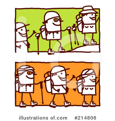 Hiking Clipart #214806 by NL shop