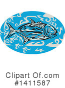 Trevally Clipart #1411587 by patrimonio