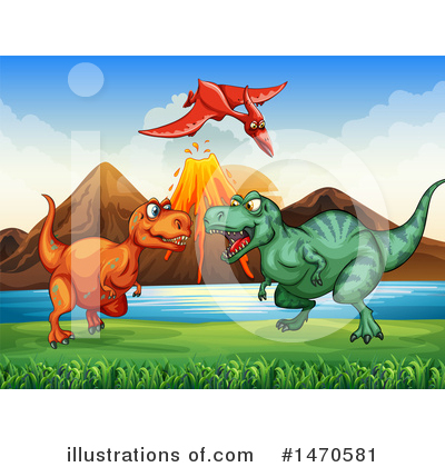 Stegosaurus Clipart #1470581 by Graphics RF