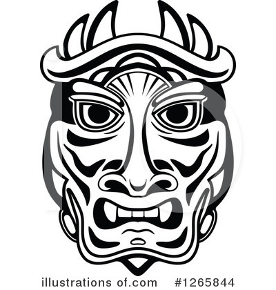 Mayan Clipart #1265844 by Vector Tradition SM
