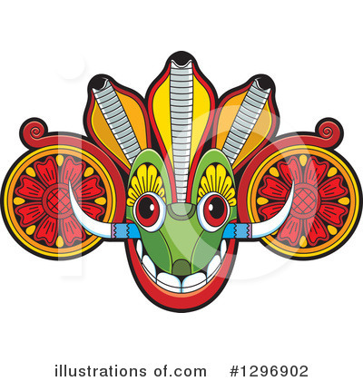 Mask Clipart #1296902 by Lal Perera