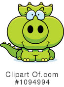 Triceratops Clipart #1094994 by Cory Thoman