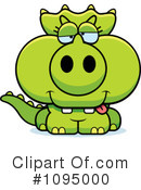 Triceratops Clipart #1095000 by Cory Thoman