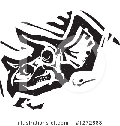 Triceratops Clipart #1272883 by xunantunich
