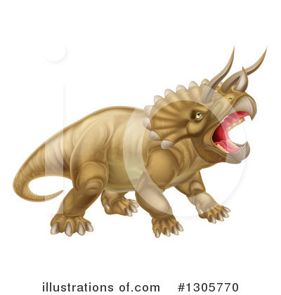 Dinosaur Clipart #1305770 by AtStockIllustration