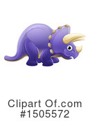 Triceratops Clipart #1505572 by AtStockIllustration