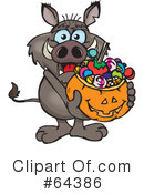 Trick Or Treater Clipart #64386