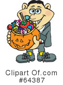 Trick Or Treater Clipart #64387