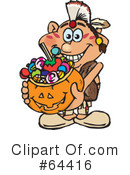 Royalty-Free (RF) Trick Or Treater Clipart Illustration #64416