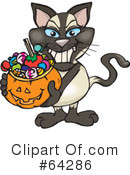 Trick Or Treating Clipart #64286 by Dennis Holmes Designs
