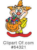 Trick Or Treating Clipart #64321