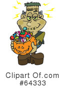 Trick Or Treating Clipart #64333
