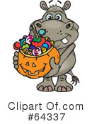 Trick Or Treating Clipart #64337
