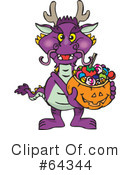 Trick Or Treating Clipart #64344