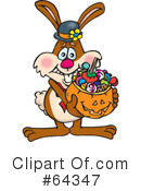 Trick Or Treating Clipart #64347