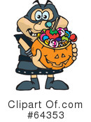 Trick Or Treating Clipart #64353