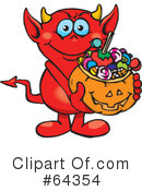 Trick Or Treating Clipart #64354