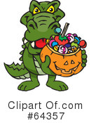 Trick Or Treating Clipart #64357