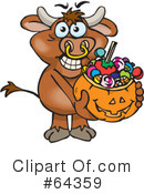 Trick Or Treating Clipart #64359