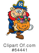 Trick Or Treating Clipart #64441