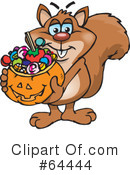 Trick Or Treating Clipart #64444