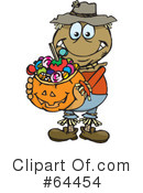 Trick Or Treating Clipart #64454