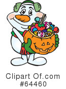 Trick Or Treating Clipart #64460 by Dennis Holmes Designs