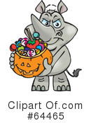 Trick Or Treating Clipart #64465 by Dennis Holmes Designs