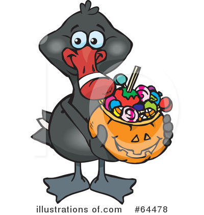 Black Swan Clipart #64478 by Dennis Holmes Designs