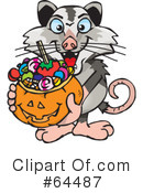 Trick Or Treating Clipart #64487