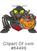 Trick Or Treating Clipart #64499 by Dennis Holmes Designs