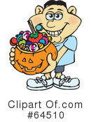 Trick Or Treating Clipart #64510