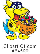 Trick Or Treating Clipart #64520
