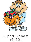 Trick Or Treating Clipart #64521