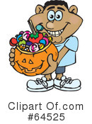 Trick Or Treating Clipart #64525