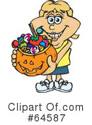 Trick Or Treating Clipart #64587
