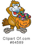 Trick Or Treating Clipart #64589