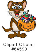Trick Or Treating Clipart #64590