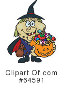 Trick Or Treating Clipart #64591