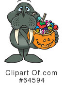 Trick Or Treating Clipart #64594