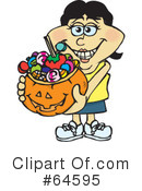 Trick Or Treating Clipart #64595