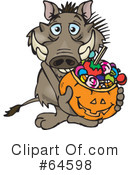 Trick Or Treating Clipart #64598