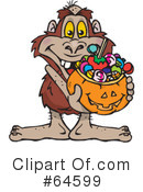 Trick Or Treating Clipart #64599