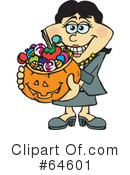 Trick Or Treating Clipart #64601